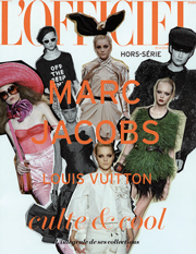 Lo speciale �fuori serie� monografico dedicato a Marc Jacobs. �L'Officiel� � nata nel 1921