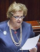 Anna Maria Cancellieri alla Camera (LaPresse)