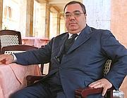Il senatore Sergio De Gregorio