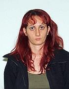 Una fotografia segnaletica dell'anarchica greca Olga Ikonomidou (Ansa)
