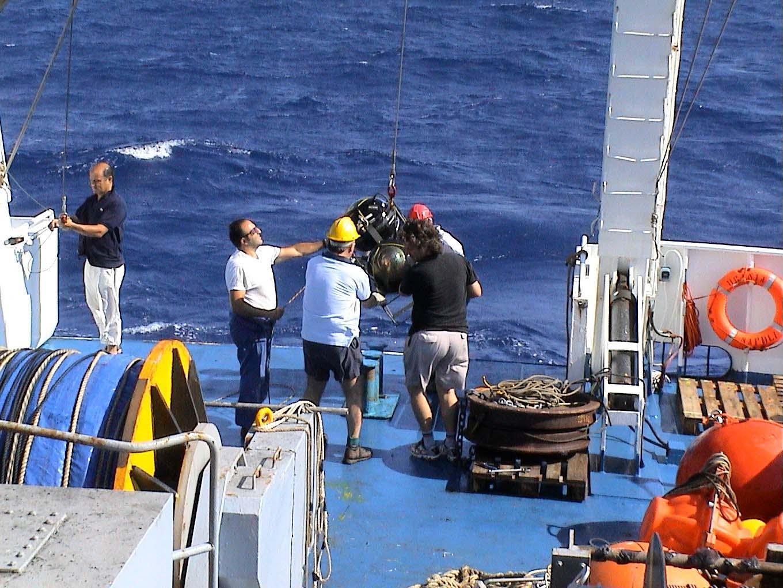 Vortici d 39 acqua in fondo al mediterraneo for Lenticchie d acqua