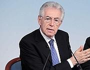 Il premier Mario Monti (Antimiani/Eidon)