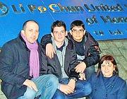 Antonio con la famiglia