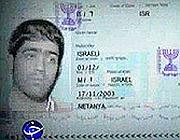 Il presunto passaporto israeliano di Majid Jamali Fashi, impiccato in Iran