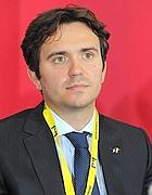 Alessandro Cattaneo, 32 anni, primo cittadino di Pavia dal 2009, segretario pavese di Forza Italia prima e del Pdl poi dal 2007 (Ansa)