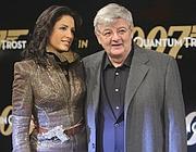 Joschka Fischer con la moglie Minu Barati (Reuters)