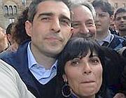 Federico Pizzarotti e la moglie Cinzia