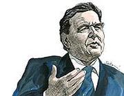 L'ex cancelliere socialdemocratico Gerhard Schröder