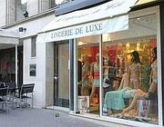Il negozio parigino di lingerie dove la principessa ha lasciato un conto non pagato di 89 mila euro nel 2009