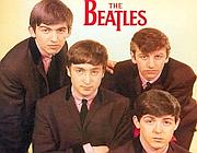 La copertina del primo disco dei Beatles, �Love me do� (foto Ansa)