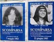 Manifesti per Emanuela Orlandi e Mirella Gregori