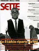 La copertina del nuovo «Sette»