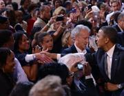 Un comizio del presidente Usa a Filadelfia