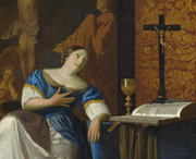 Johannes Vermeer «Allegoria della fede», del Metropolitan Museum di New York