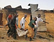 Un recente attentato anti cristiano in Nigeria (Epa)