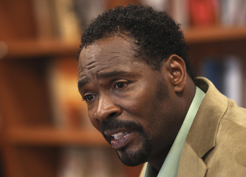 Rodney King in un immagine recente: aveva 47 anni