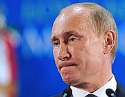 Putin in conferenza stampa (Ap)