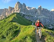 In estate il «bike pass» al posto dello ski pass