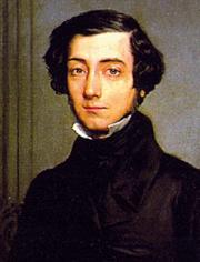Alexis de Tocqueville in un ritratto di Theodore Chasseriau