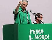 Umberto Bossi (Ansa/Bazzi)