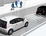 Il freno automatico sulla Volkswagen up!