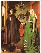 Jan van Eyck, «Ritratto dei coniugi Arnolfini»