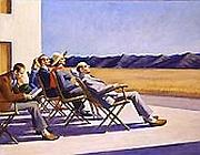 Edward Hopper, People in the sun, 1980 