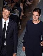 Maria Grazia Chiuri, a destra, e Pier Paolo Picciolo, gli stilisti di Valentino