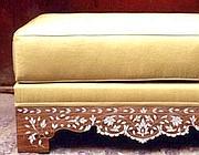 Uno dei mobili comprati da Asma Assad (dal Mail on Sunday)