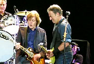 Bruce Springsteen e Paul McCartney (Ap)