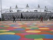 Lo stadio Olimpico prima dell'inizio dei giochi (Ap)
