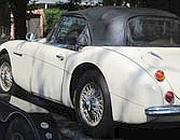 L'Austin-Healey rubata nel 1970 e ritrovata