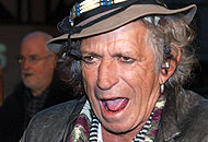 Keith Richards, 68 anni