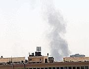 Il fumo che si alza su Damasco