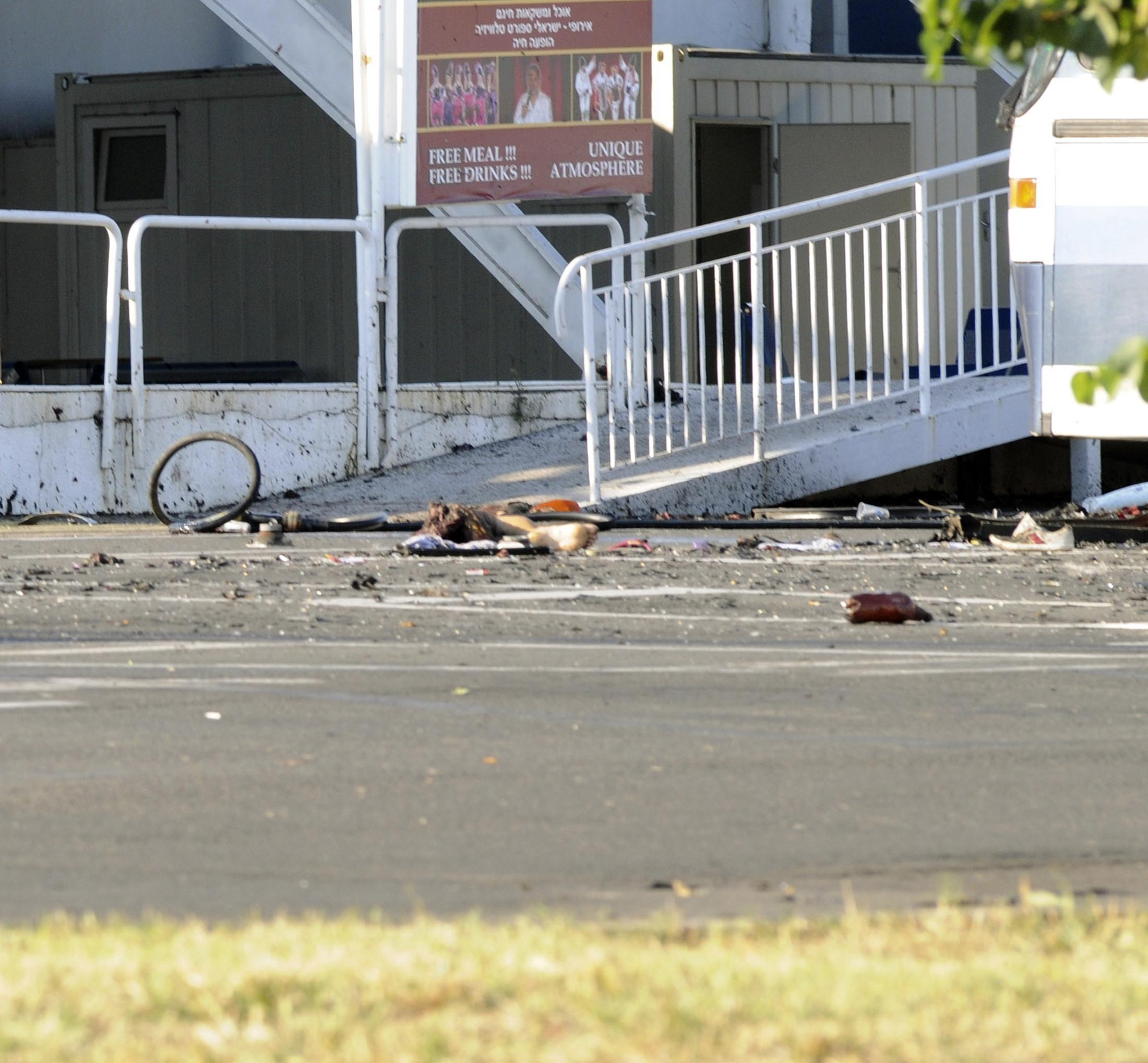 L'attentato di Burgas (Reuters)