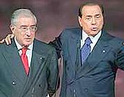Marcello Dell'Utri e Silvio Berlusconi