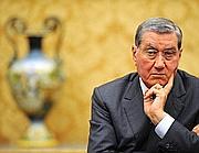 L'ex presidente del Senato Nicola Mancino