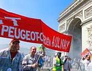 Manifestazione a Parigi (Ap/Brinon)