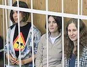 Le Pussy Riot sono in carcere da cinque mesi (Ansa/Chirikov)
