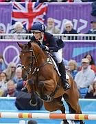 Zara Phillips, con la sua squadra ha ottenuto l'argento