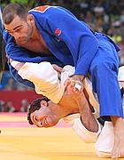 Roberto Melon in blu (Epa)