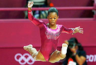 Il volo di Gabby Douglasincanta l'Olimpiade