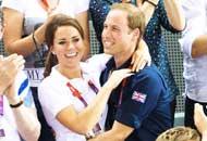 William e Kate, tifo scatenato ai Giochi