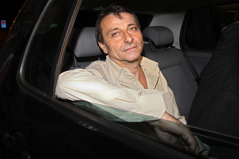 Cesare Battisti esce dal carcere nel 2011