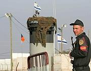 Una foto d'archivo del posto di frontiera di Karm Abu Salem, o Kerem Shalom (Afp/Bouroncle)
