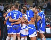 La gioia degli azzurri della pallavolo:  semifinale