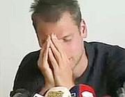 Un momento della conferenza stampa a Bolzano