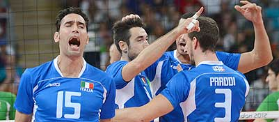 Pallavolo, l'Italia  di bronzo
