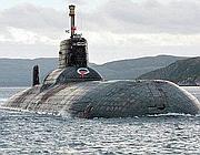 Un sottomarino russo della classe Akula (Ap)