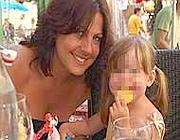 Suzy McLeod con la sua piccola Mary